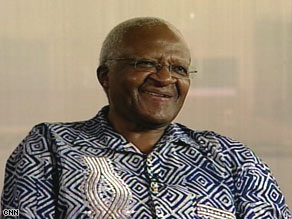South Africa's Archbishop Desmond Tutu