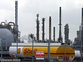 of.  Soaring oil prices have boosted Shell and BP's earnings.  2. 1.