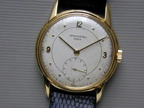 Go on, you know you want to... A Swiss-made Patek Philippe watch.