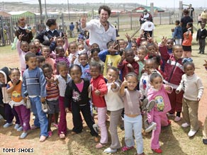 """Blake Mycoskie says he pursued his vision for TOMS Shoes with """"reckless ambition."""""""
