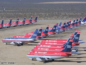 End of the line: the commercial airline graveyard in the Mojave Desert outside Los Angeles
