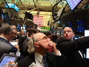 Wall Street traders had been watching developments in Washington closely.
