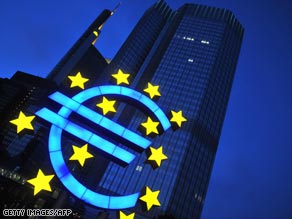 The ECB is Frankfurt, Germany, has some monetary policy powers but also has limits.
