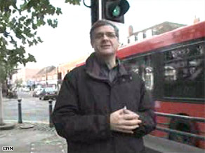 CNN's Jim Boulden on his local High Street in southwest London.
