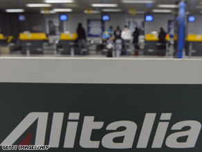 Alitalia is looking for a new start.