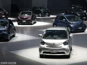 Toyota pins hopes on economical IQ small car.