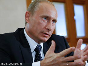 Vladimir Putin says Russia invests tens of billions of dollars in gas exploration.