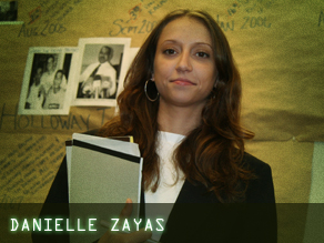 Student log: Danielle Zayas