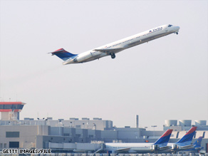 A drunk Delta passenger was placed in custody after he tried to light curtains on fire during a flight.