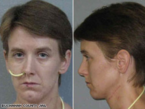 Michelle Kehoe was arrested November 15 after leaving the hospital where she had been since the attack.