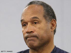 O.J. Simpson told the judge Friday that he was sorry for what he did but didn't think it was wrong.