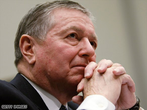 Ex-Attorney General John Ashcroft is accused of ordering the jailing of Muslim immigrants after the 9/11 attacks.