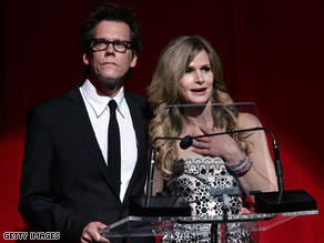 Kevin Bacon and his wife, Kyra Sedgwick, had investments with Bernie Madoff, Bacon's publicist says.