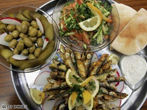 Cultural treat? Moves are underway to get the Mediterranean diet on UNESCO's world heritage list.