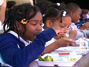 One of the most requested vegetables at Brown Mills Elementary School is broccoli, according to its principal.