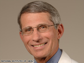 Dr. Anthony Fauci is cautiously optimistic that eventually some AIDS/HIV patients will be cured.