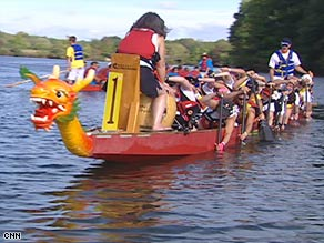 The Steel Magnolias is one of about two dozen U.S. dragon boat teams with breast cancer survivors.