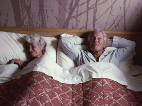 Seven to eight hours seems to be enough sleep for most people, although older people sleep less.