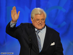 Sen. Edward Kennedy announced in 2008 that he had a brain tumor in his left parietal lobe.
