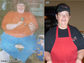 Kathy Tandy went from 432 pounds to 260 pounds by walking and watching what she eats.