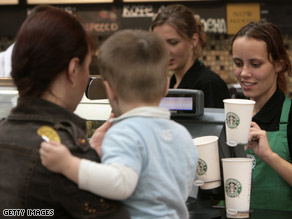 More moms say they're leaning on caffeinated beverages to get through the day.