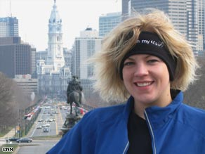 &quot;Running really is a metaphor for life,&quot; Anne Mahlum says. &quot;You just have to take it one step at a time.&quot;