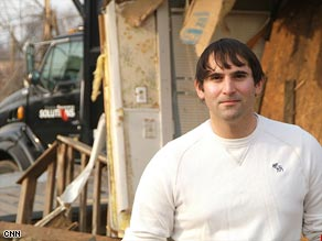Tad Agoglia started the nonprofit First Response Team of America to help clean up areas hit by disaster.