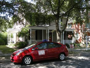 Catherine Poe is throwing in a Toyota Prius hybrid with the sale of her renovated Maryland house.