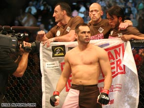 Rich Franklin against Matt Hamill