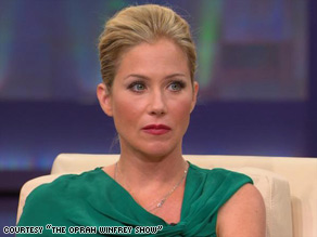 """It doesn't feel the same, and it's hard to carry your purse,"" Christina Applegate says. ""I cry at least once a day."""