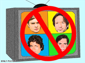 Four types of TV guys to avoid