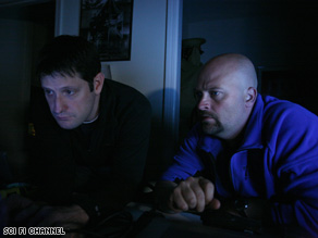 Wilson and Hawes look for evidence of ghosts at another suspected haunted building.