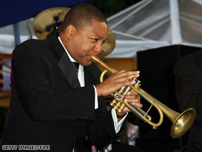 Marsalis credits Davey Yarborough with inspiring D.C. youth through his nonprofit jazz arts institute.