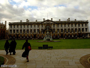 Cambridge students may have to field questions in the application process that would baffle some observers.