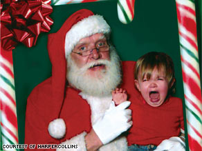 """A 2-year-old knows what a regular person looks like, and Santa ain't it,"" author Nancy Watkins says."