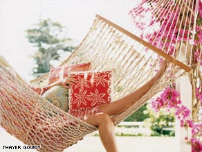 Valorie Burton, a life coach in Annapolis, Maryland, says to write things like hammock time on your to-do list.