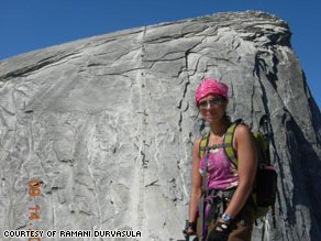 Ramani Durvasula at the summit of Mt. Baldy in California, June 2008.