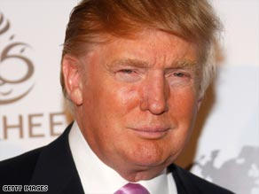 Donald Trump tells Larry King that he's endorsing John McCain for president.