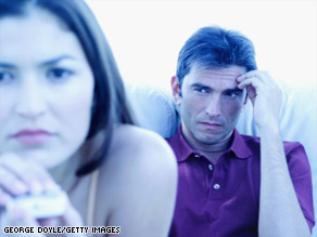 "Couples may not realize that ""for better or worse"" may mean they will share their emotional states as well."