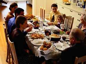thanksgiving dinner with family, is your family prepared?