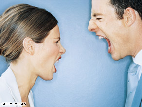 Onlookers are often disturbed when they witness open hostility between couples in public.