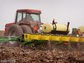 Congress overrode President Bush's second veto of a $300 billion farm bill.