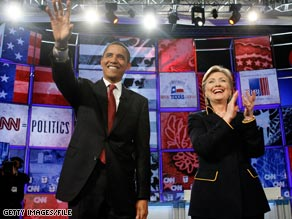 Sen. Barack Obama will make his first campaign appearance with Sen. Hillary Clinton on Friday.