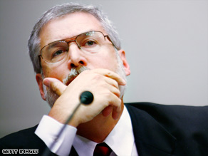 David Addington said he could not talk about discussions about interrogation techniques during a House hearing.