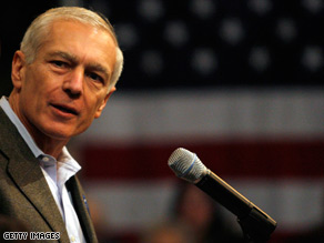 Retired Gen. Wesley Clark, who ran for president in 2004, questions Sen. John McCain's executive experience.