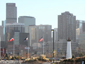 Denver, Colorado, will host the Democratic National Convention in late August.