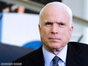 Sen. Barack Obama says McCain's economic plan would be a continuation of President Bush's policies.