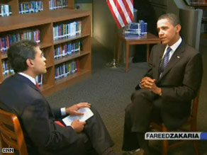 CNN's Fareed Zakaria interviews Sen. Barack Obama.