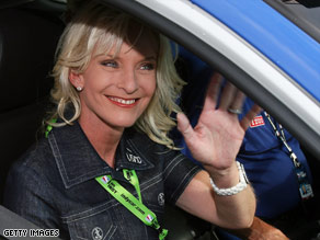 Cindy McCain says she's been a fan of racing since she was a little girl.
