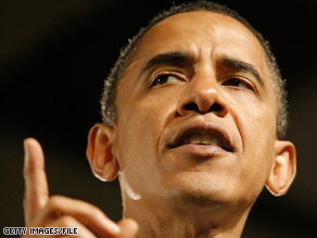 Sen. Barack Obama tells the NAACP: &quot;I will stand up for you&quot; the way earlier generations stood up for him.